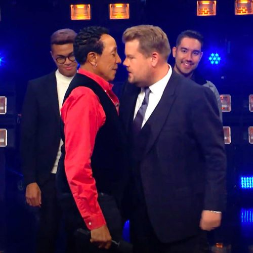 Smokey Robinson James Corden Riff Off APA