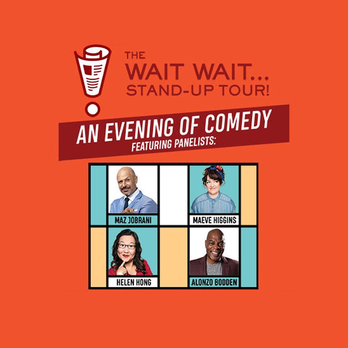 The Wait Wait… Stand-Up Tour!